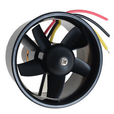 64mm Duct Fan 4500KV Brushless Outrunner Motor Kit for RC Model EDF Jet AirPlane