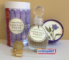 Crabtree & Evelyn Venetian Violet Flower Water 100mL 3.4 oz New in Box +Atomizer