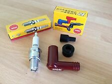 YAMAHA T80 TOWNMATE 1983-1997 NGK SPARK PLUG AND CAP FREE POST!