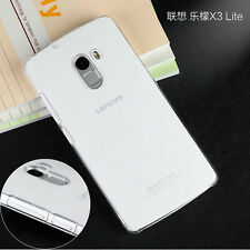 For Lenovo Vibe X3Lite K4 Note Glossy Transparent Clear Hard case cover