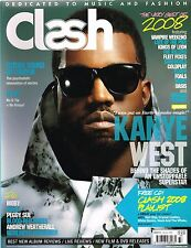 CLASH Magazine #33 Kanye West ADELE Moby FUTURE SOUND OF LONDON Blood Red Shoes