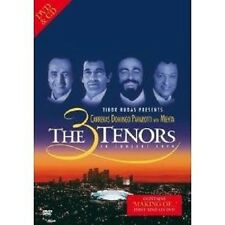 "DOMINGO/PAVAROTTI/CARRERAS ""THE 3 TENORS..."" DVD+CD NEU"