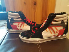 METALLICA-VANS SHOES sz.11.5 US ,NEW,KNOB,CLUB,BOX,SKATEBOARD
