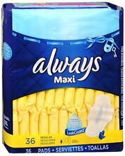 Always Maxi Pads Regular Flexi-Wings 36 Each