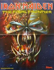 Iron Maiden  / Wacken [ Open Air ]   _   1 Poster / Plakat  _ The Final Frontier