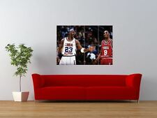 KOBE BRYANT MICHAEL JORDAN BASKETBALL SPORT GIANT ART PRINT PANEL POSTER NOR0089