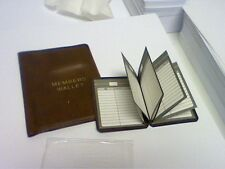 WALLET POCKETSIZE CARD HOLDER-CREDIT/BUSINESS CARD-FREE ADDRESS BOOK-SEE PICTURE