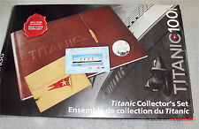 2012 CANADA TITANIC COLLECTORS SET 25-50 CENTS PROOF STAMPS STOCK CERT