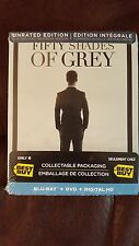 Fifty Shades of Grey Blu ray Steelbook Best Buy Unrated and Theatrical Versions