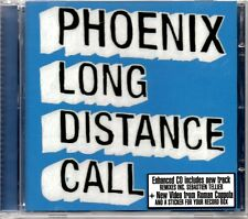 PHOENIX - LONG DISTANCE CALL - VIDEO ENHANCED 2006 CD SINGLE - MINT