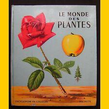 LE MONDE DES PLANTES Encyclopédie Romain Simon EO 1957