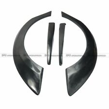 New 4Pcs FRP M & M Rear Wide Fender Flares Racing Cover Kits For Honda Civic FD2