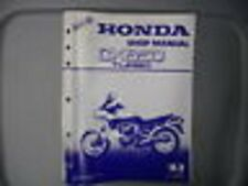 Honda Factory Service Repair Shop Manual 1983 CX650 Turbo