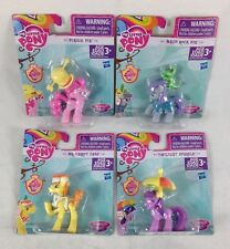 4 My Little Pony Pinkie Pie Maud Rock Twilight Sparkle Mr Carrot Cake Topper MLP