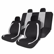 8pcs Universal Fit Car Seat Cover Set Full Set Protector Front & Rear Covers New