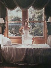 Steve Hanks Savoring The SunPrint Signed Certificate Image 26x18 inches