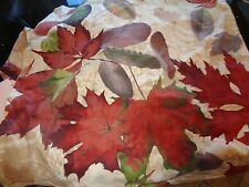 "Pottery Barn Windswept Leaves  Pillow cover  24"" New w tag"
