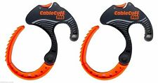 Cable Cuff PRO (2-Pack) Medium, Cable Clamp, Adjustable & Reusable, CFMP030808