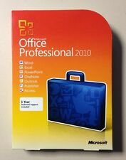 MS Office 2010 Professional Vollversion englisch inkl. 2ter Installation