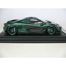 McLaren P1 2015 in Emerald handbuilt in Italy by Tecnomodel 1/18