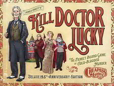 Kill Doctor Lucky 19.5 Anniversary Edition Board Game Cheapass Games PSI CAG 30