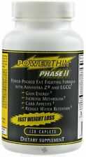 Power Thin Phase II Fast Weight Loss - 120 Caplets