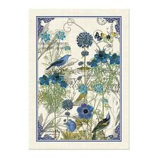 New Michel Design Works Blue Kitchen Tea Towel