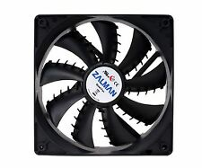 Zalman ZM-F3 Plus (SF) 120mm 3Pin Case Cooling Fan Cooler Shark Fin Blade Silent