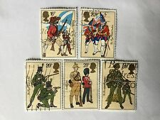 UK Great Britain 1983 SC# 1022-1026 complete Set Nice Lot 125. CV Rm 11