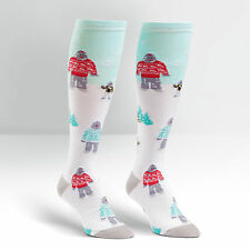 Sock It To Me Women's Knee High Socks - The Yeti Family
