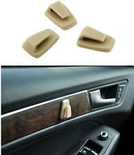 3pcs Self Adhesive Sticky Hook Portable Beige Plastic Holder Car/Home Utility