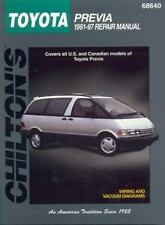 Toyota Previa, 1991-97 (Chilton Total Car Care Series Manuals)