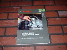 Genuino Bosch Ignición conduce Catálogo. 1993/1994