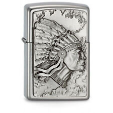 awesome ZIPPO Indian Head special edition - rare emblem collectible lighter