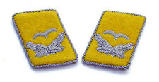 WW2 German Luftwaffe Officer Collar Tabs (Leutnant)