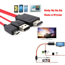 For Android Phones Universal MHL Micro USB to HDMI 1080P HD TV Cable Adapter HOT