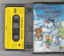 MC WINTERZEIT - KINDERZEIT - Stimmungsvolle Lieder und Geschichten polyband MC