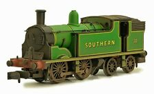Dapol 2S-016-004, N Gauge, 0-4-4T M7 Tank Loco, 30 in Southern green weathered