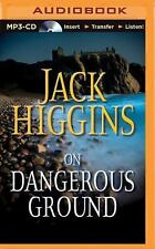 Sean Dillon: On Dangerous Ground 3 by Jack Higgins (2015, MP3 CD, Unabridged)