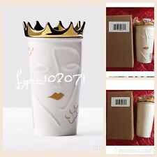 Starbucks Siren w/ Removable Gold Crown Double Wall Tumbler Mug 10 oz NEW #1