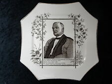 C1890's Commemorative Plate - Death of Lord Bishop of Manchester, James Fraser