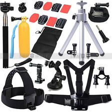 Pet Outdoor Sports Camera Accessories Set Chest Floating F. Gopro Hero 2 3 4 5