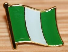 NIGERIA Nigerian Africa Flag Country Metal Lapel Pin Badge