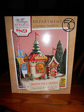 DEPT 56 NORTH POLE VILLAGE THE JOLLY FELLOW TOY CO. NIB *Sealed*