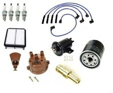 Ignition Tune Up - Cap Rotor Filters Wire Kit For: Toyota Pickup 89-92 L4 2.4