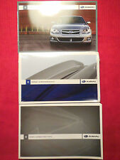 2009 Subaru Legacy/Outback Owner's Manual & Pouch