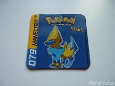 Magnet Staks Pokémon Advanced / 079 Manectric / Panini 2003 [ Neuf ]