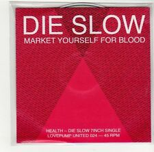 (GE784) Die Slow, Market Yourself For Blood - 2009 DJ CD