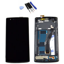 Touch Screen Digitizer + LCD Display + Frame Assembly For Oneplus One 1+ A0001