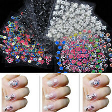 50 Sheet Nail Art Transfer Stickers 3D Flower Manicure Tips Decal Decorations